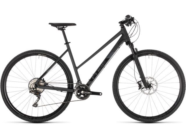 Cube Cross SL Hybridcykel Trapez grå (2019) | City-cykler